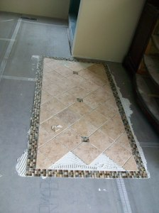 """Installer started with the tile """"rug"""""""